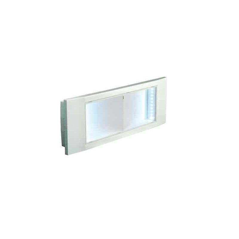 LAMPADA DI EMERGENZA A LED INCASSO    PARETE STILE IN LED 24W 8H ALTA LUMINOSITA BEGHELLI 1499  24     -> Lampadario Led Alta Luminosità