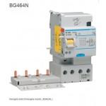 BLOCCO DIFFERENZIALE 4P 500MA 63A AC 3MODULI HAGER COD. BG464N