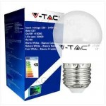 LAMPADA LED MINISFERA E27 6W 2700K LUCE CALDA VTAC V-TAC 4247