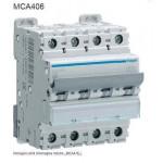 INTERRUTTORE AUTOMATICO MAGN. 4P 6A 6KA C 4M HAGER COD. MCA406