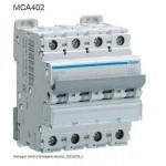 INTERRUTTORE AUTOMATICO MAGN. 4P 2A 6 KA C 4M HAGER COD. MCA402