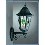 LAMPADA DA PARETE LANTERNA UP C/VETRINO VERDE E27 MASSIVE NEWCASTLE 152404510