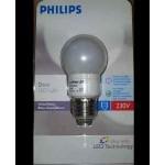 LAMPADINA DECORATIVA DecoLed lamp E27 BIANCA - 230V 1W - PHILIPS COD.799708