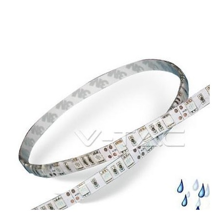 Striscia led adesiva imperm 5050 ip65 6000k luce bianca for Striscia led adesiva