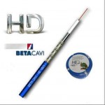 CAVO COASSIALE HD 75OHM LSZH BLU 3.3MM  MAT. 100mt CPR BETA CAVI HD4019