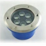 FARETTO LED INCASSO CARRABILE 6W 3000°K LUCE CALDA IP67 12VDC LAMPO CARR/6W/BC