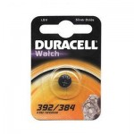BATTERIA BLISTER A BOTTONE ARGENTO 1,5V WATCH DURACELL 392/384