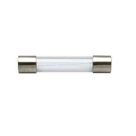 FUSIBILE INDUSTRIALE CILINDRICO IN VETRO RAPIDO 6 X 32 mm gG 6.3A
