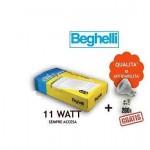 LAMPADA EMERGENZA TUTTOLED 11W SA 1H IP40 INCASSO/PARETE + OMAGGIO BEGHELLI 4292