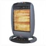 STUFA ALOGENA PAVIMENT CON LAMPADE OSCILLANTE 3 POTENZE 400-800-1200W DCG SA9223