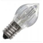 LAMPADA PER CIMITERO VOTIVA 3 LED 23X50 FIAMMA 24V 0.5W E14 LUCE AMBRA 2350879