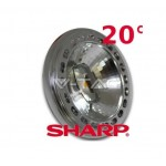 LAMPADINA LED AR111 15W / 75W G53 12V 780Lm LED SHARP 3000°K 20° V-TAC VTAC 4084