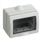 SCATOLA CUSTODIA STAGNA IDROBOX IP55 3 MODULI PR SERIE MATIX BTICINO 25503