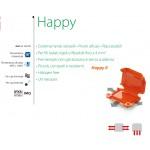 GIUNTO MINI GEL PER CONNESSIONI ELETTRICHE  41 x 28 x 19mm IPX8 RAYTECH HAPPY 0