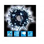 CATENA NATALE 100 LUCI LED MINI LUCE FREDDA 7M CON CONTROLLER ESTERNO 291873