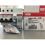 INTERRUTTORE DIFFERENZIALE MAGNETOTERMICO 3P 25A 6KA 0.03A ABB DS653 C25 EY 085