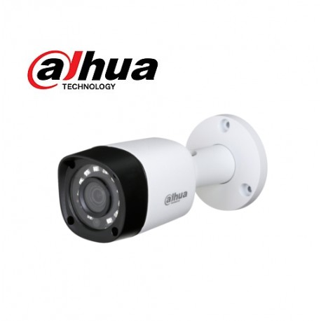 TELECAMERA MINI BULLET IBRIDA 4IN1 3.6MM 1080P 2MPX IP67 12 DAHUA HAC-HFW1220RMP
