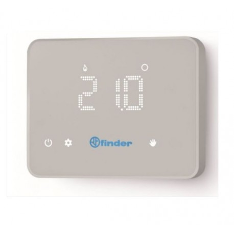 CRONOTERMOSTATO  A PARETE BIANCO WIFI FINDER BLISS TOUCH SCREEN 1C9190030W07
