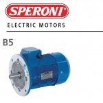 MOTORE ELETTRICO TRIFASE 400V 0.18KW 0.25HP 4 POLI B5 63B SPERONI 134101249