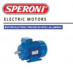 MOTORE ELETTRICO TRIFASE 400V 0.37KW 0.50HP 4 POLI B3 71B SPERONI 134101010