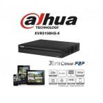 DVR PENTA IBRIDO 8 CH HDCVI AHD TVI ANALOGICO 4 IP 1080P H265+ DAHUA XVR5108HS-X