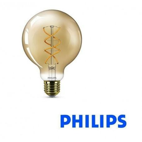 LAMPADINA LED GLOBO CLASSIC VINTAGE G93 E27 230V 5W-25W 2000K 250lm PHILIPS